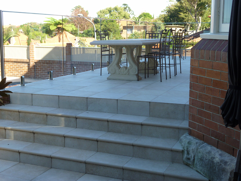 Renovation And New Concrete Terrace In Mosman Jns Building
